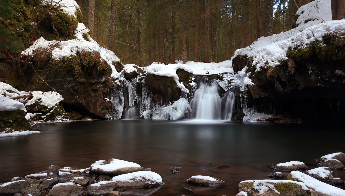 Rio Cadino inverno