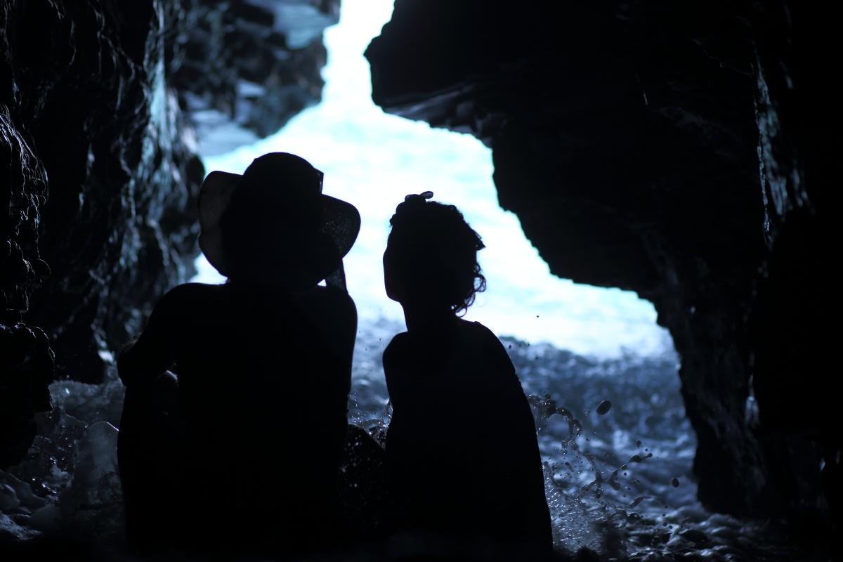 Risacca nella grotta